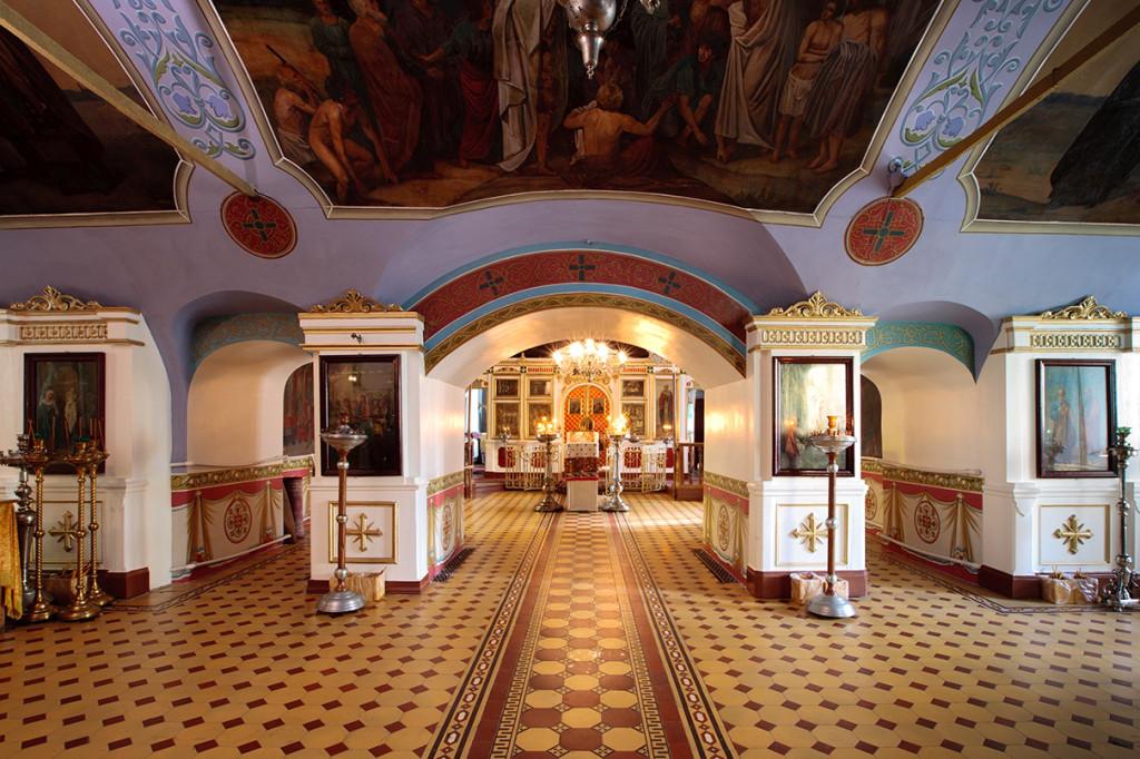 что стояние храм владимирской иконы божией матери в куркино Калибр СВИАПГ
