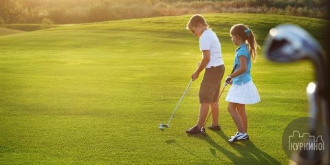 гольф в куркино 1