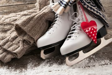 Катание на коньках в куркино