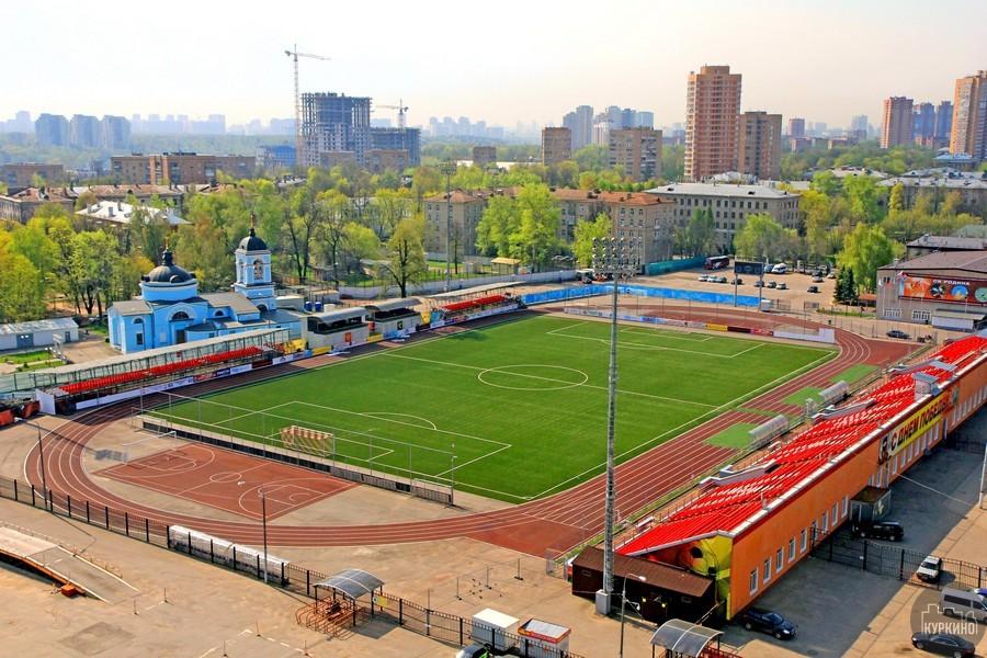 Стадион «Родина» в химках