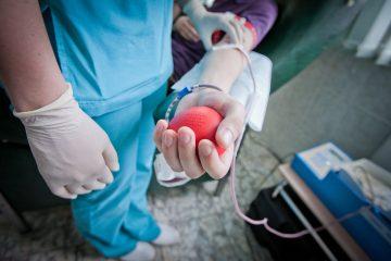 донор крови в сзао