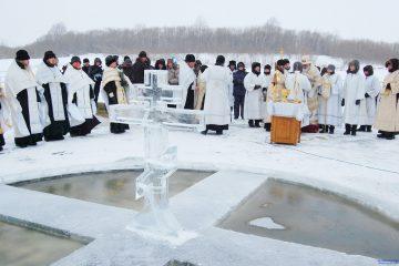 крещенские купания в куркино
