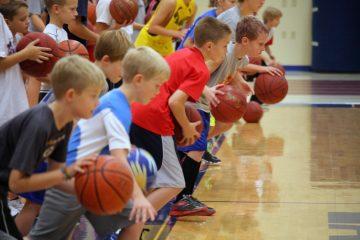 баскетбол дети в куркино