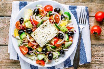 Мастер-класс по приготовлению греческого салата в СЗАО