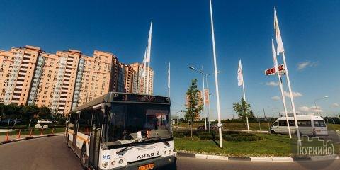 Новый автобусный маршрут химки-новогорск