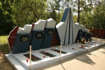 Новолужинское кладбище в Химках