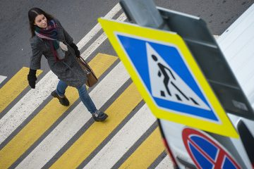 пешеходные переходы в химках