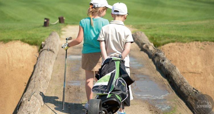 гольф в куркино