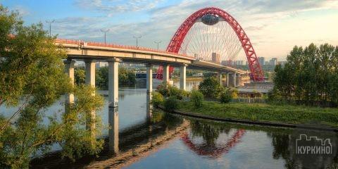 живописный мост в сзао