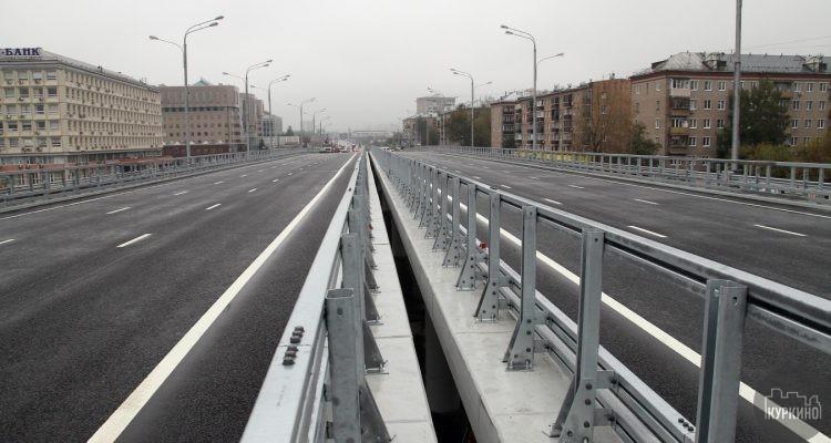 реконструкция волоколамского шоссе химки