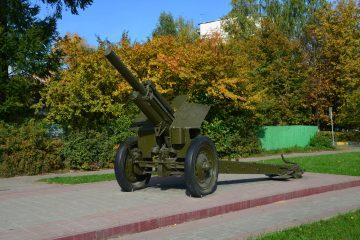 Памятник гаубица M-30 в Сходне
