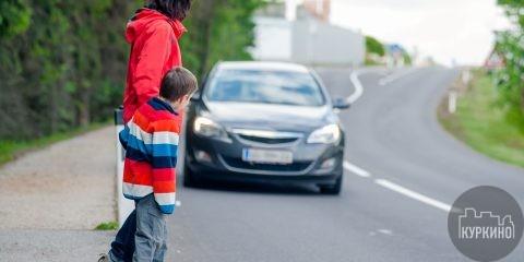 правила дорожного дввижения детей в куркино