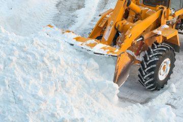 уборка снега в куркино