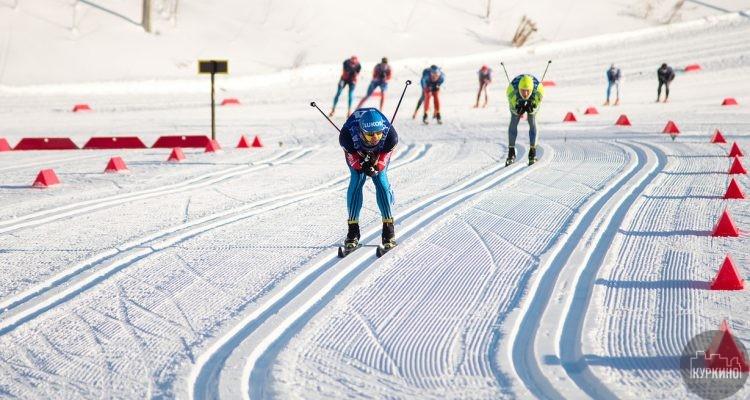 лыжная гонка в химках