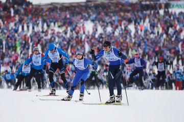 московская лыжня 2019 в химках