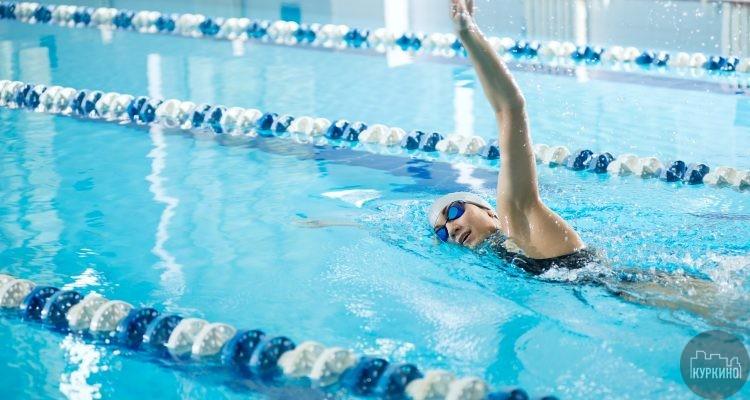 соревнования по плаванию в куркино