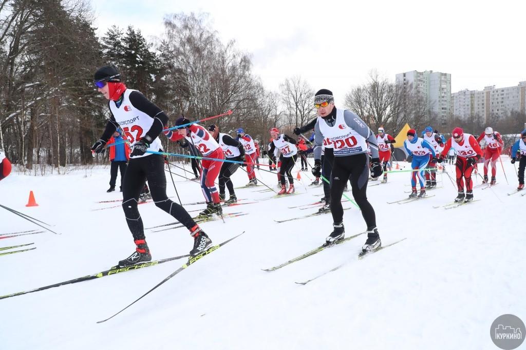 лыжная гонка в сзао