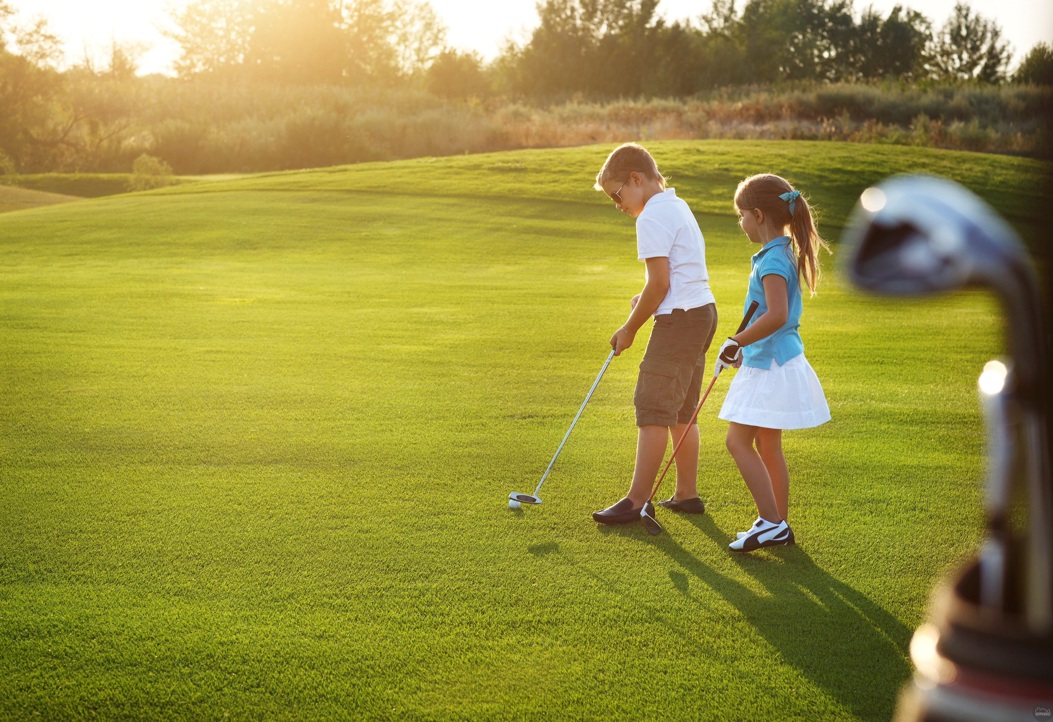 Московская школа гольфа, которая находится в Куркино, объявляет набор детей в возрасте от 8 лет по дисциплинам:гольф и мини-гольф.