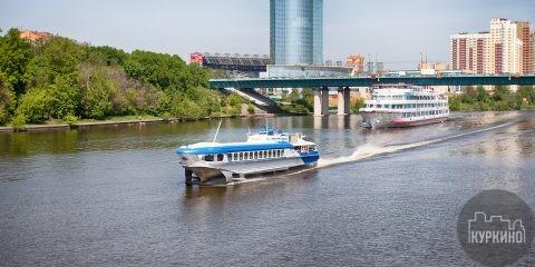 речной трамвай в химках