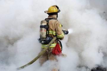 пожар в Куркино