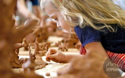 ростки куркино работа с глиной