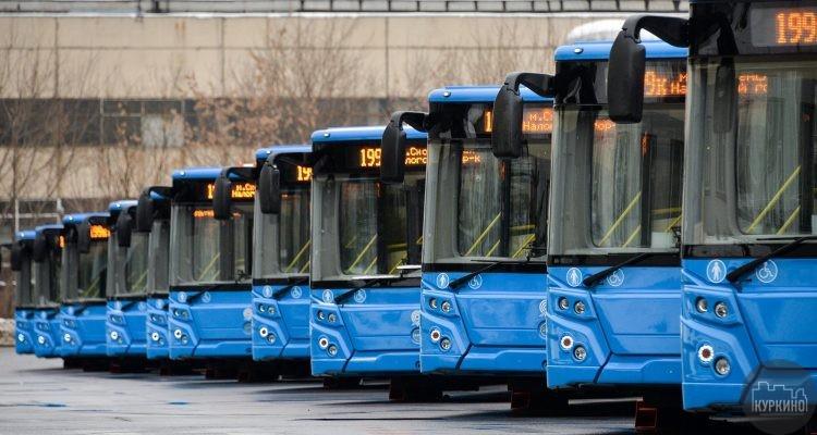 изменение автобусных маршрутов в химках