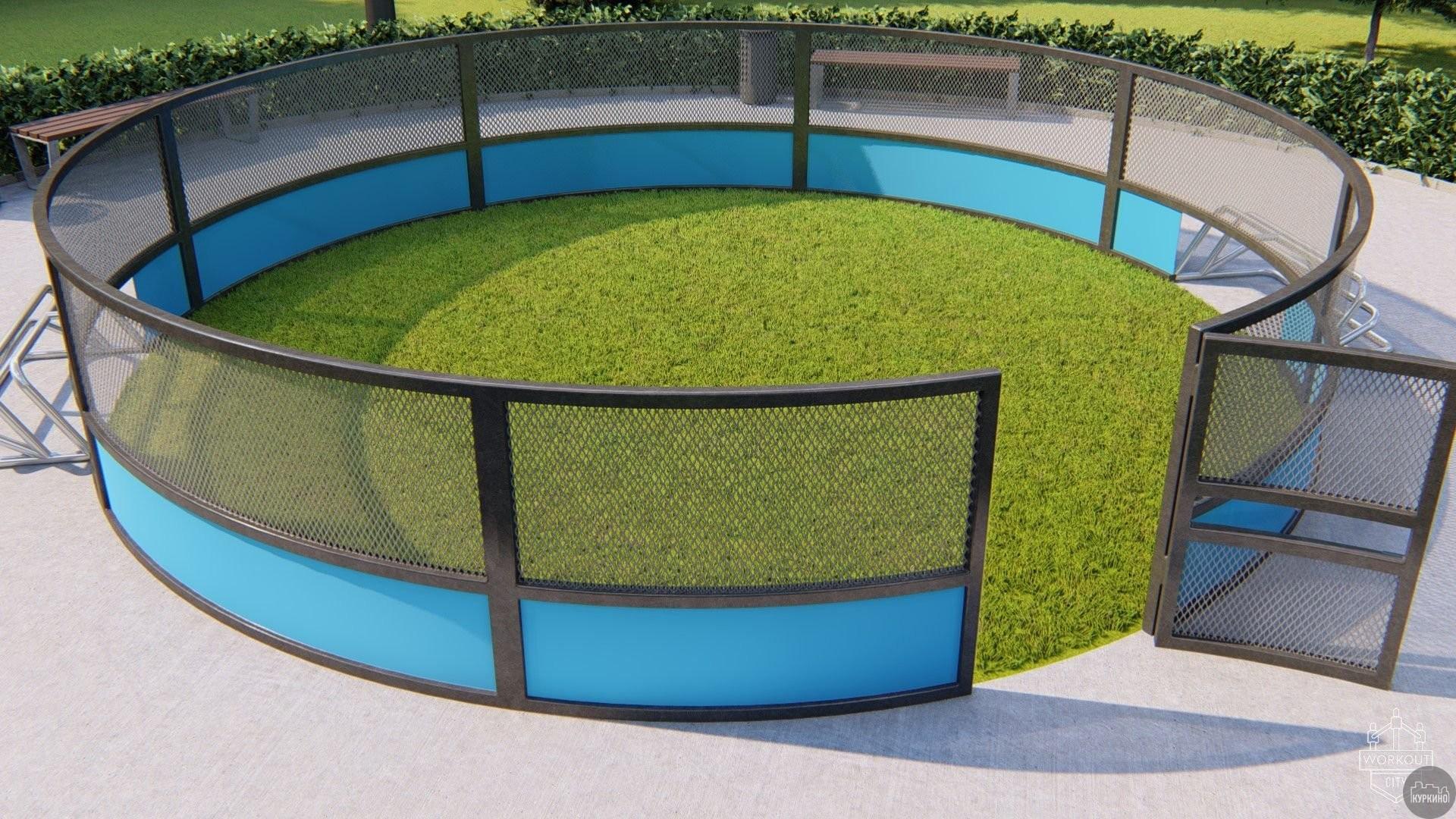 Площадка для панна-футбола в СЗАО