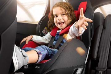 правила перевозки детей в машине