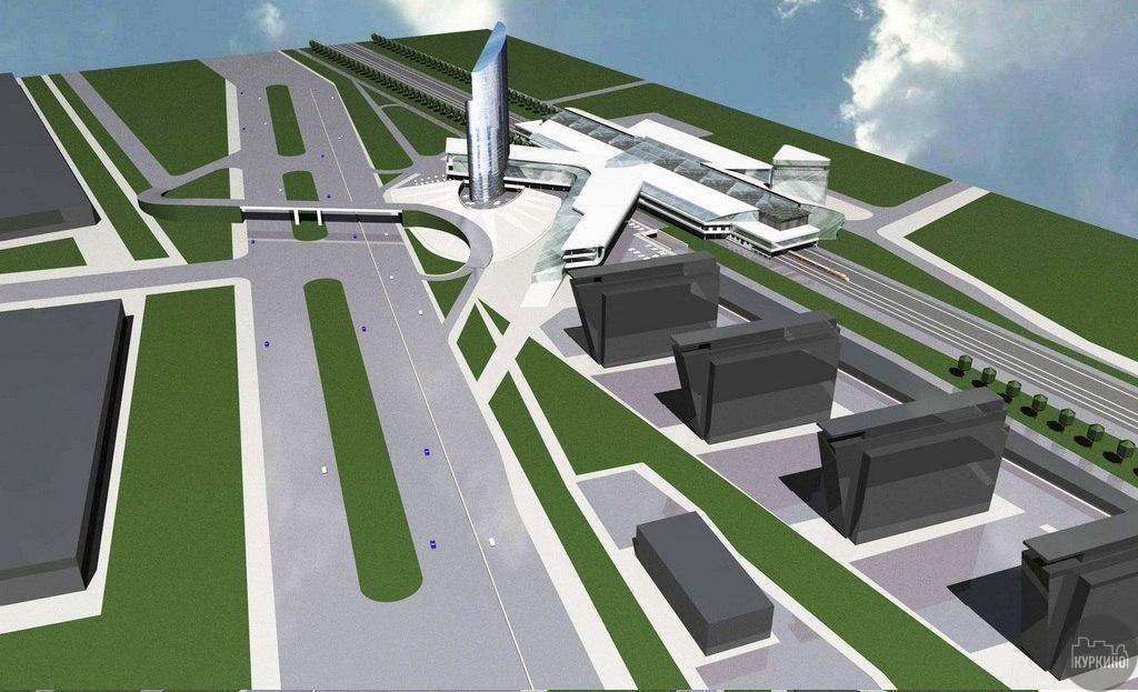 Строительство станции МЦД-3 «Новые Химки»