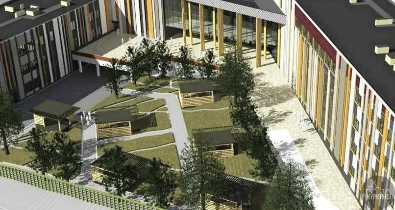 Строительство образовательного корпуса в Куркино