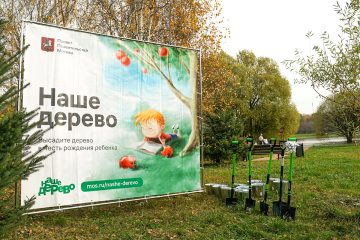 Посадите именное дерево в Москве