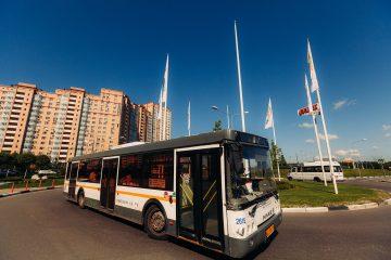 Автобусные остановки в Куркино обновят до октября