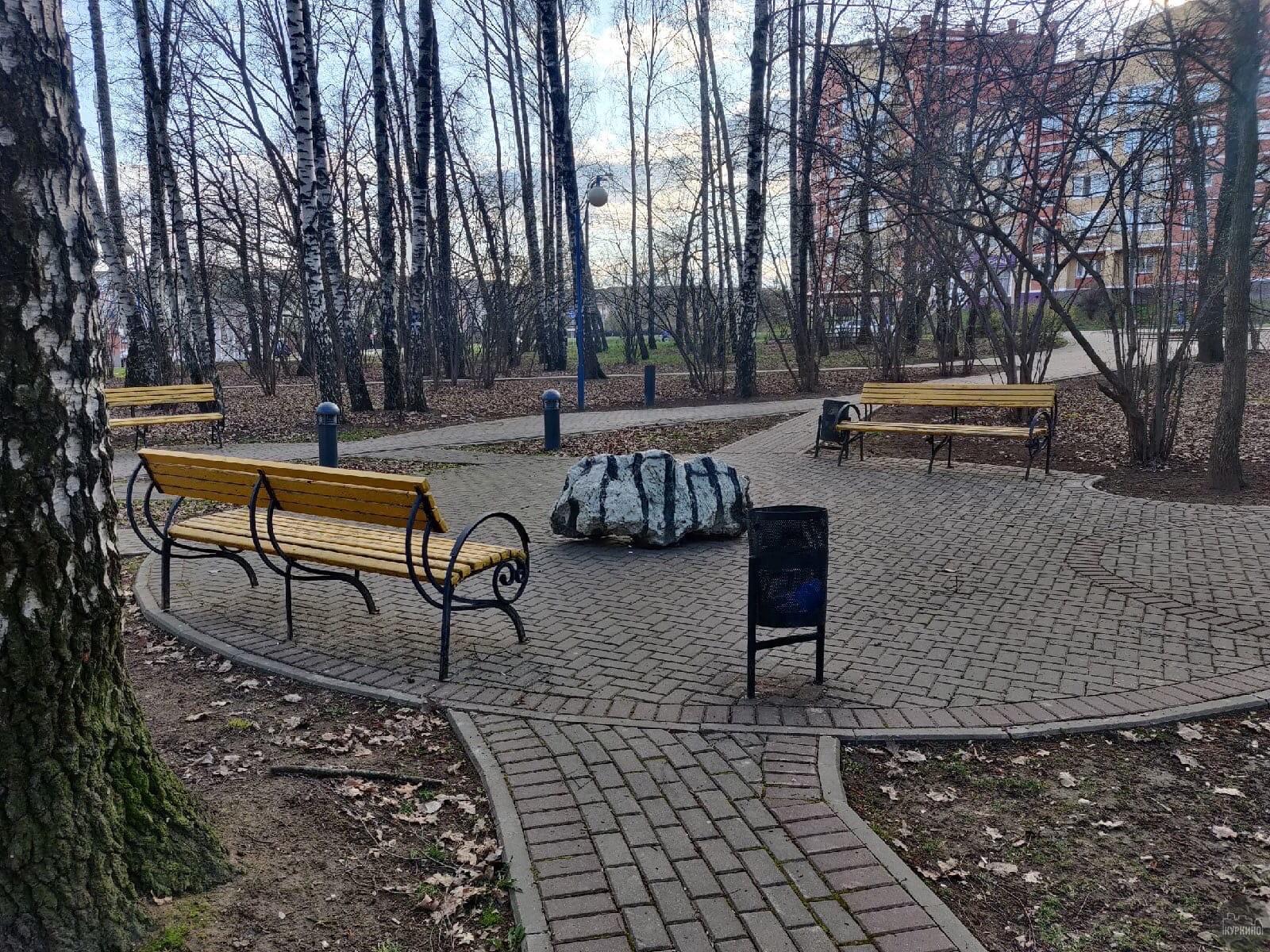 Загадочный камень в парке «Березовая роща»