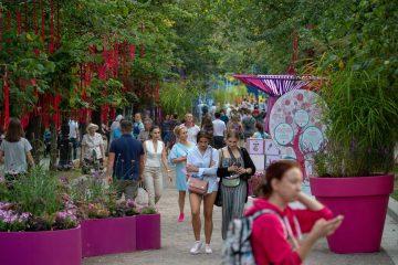 Фестиваль «Цветочный джем» в Куркине