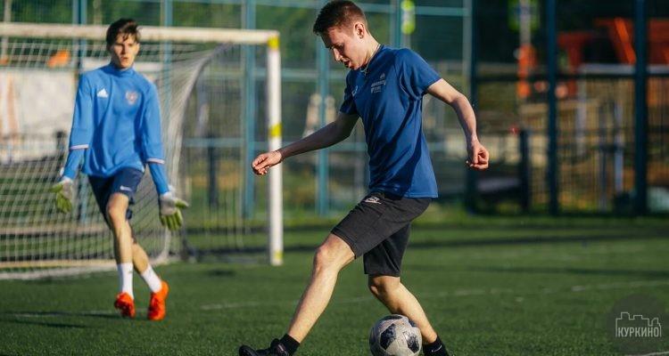 Cоревнования по волейболу и мини-футболу в Куркино